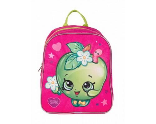 Рюкзак детский Шопкинс, яблоко тм Shopkins для девочки