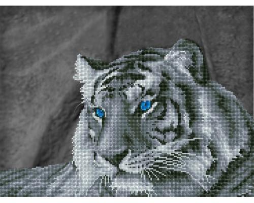 "Алмазная мозаика ""Загадочный тигр"" 52 х 39.5 см"