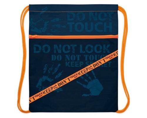 Мешок для обуви Hatber 1 отделение Don't Touch! для мальчика
