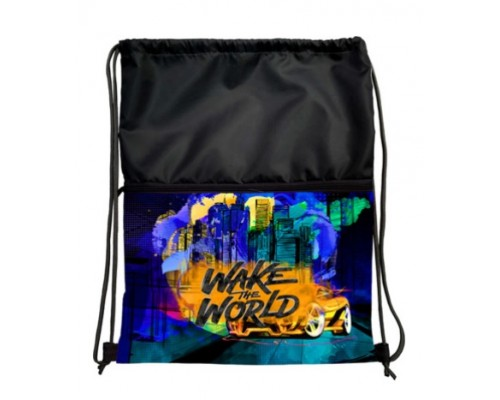 "Мешок для обуви ""Wake the World"", 33х42 см, для мальчика"