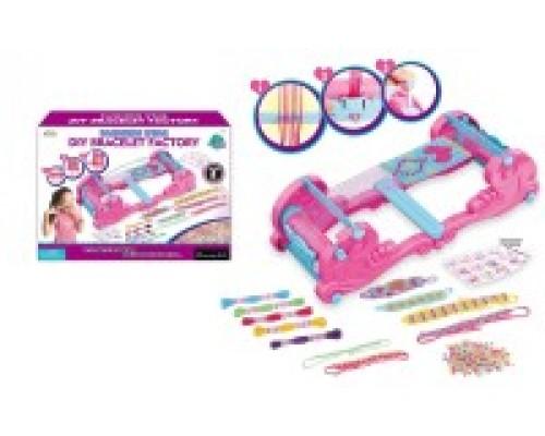 Игровой набор для создания украшений для девочек Бисероплетение